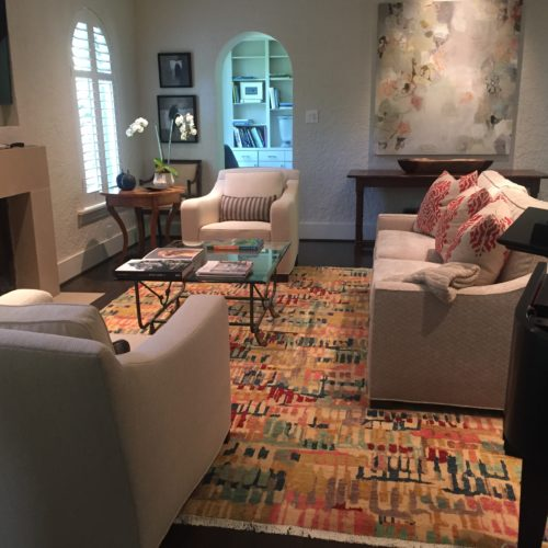 Black Label 'Vivid Brights' Rug Install by IntRe Designs