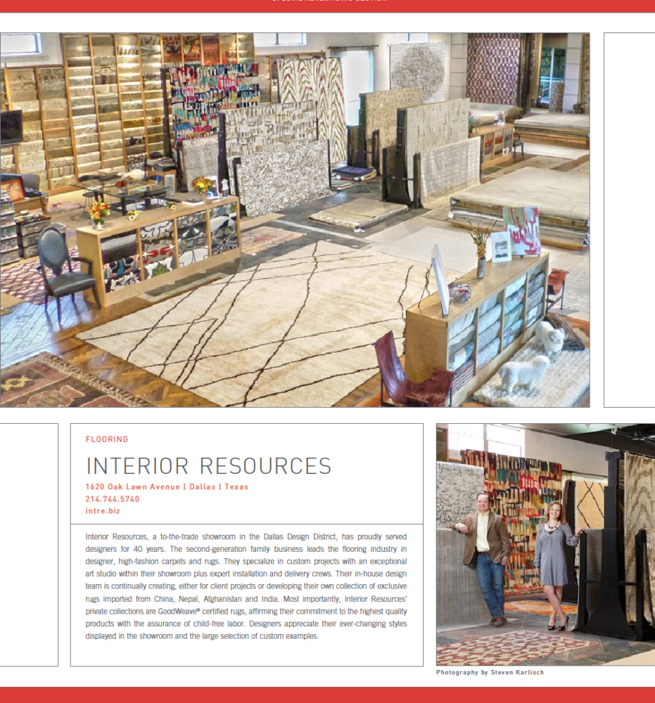 Beau For Over 42 Years Interior Resources Has Catered To The Complex Tastes And  Individual Styles Of Interior Designers With The Finest Quality Of Rugs And  ...