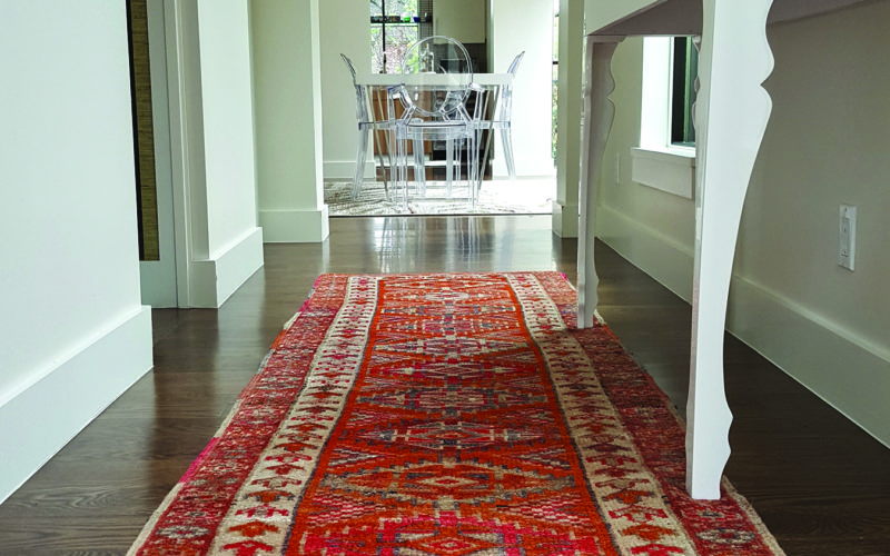 Semi Antique Anatolian Runner
